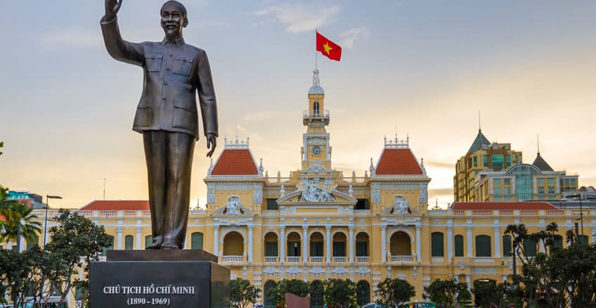 First time in Ho Chi Minh City - Saigon history