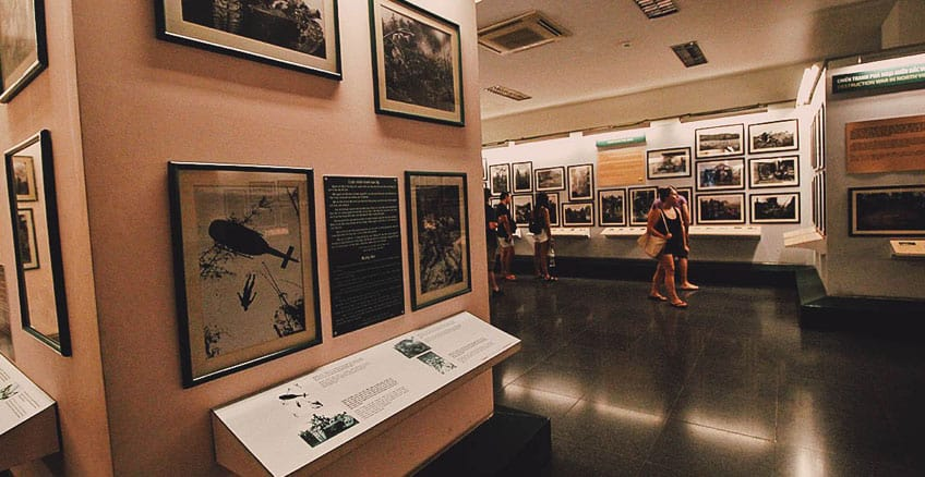 First time in Ho Chi Minh City- War remnants museum