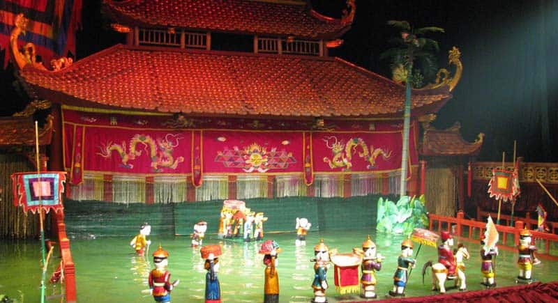 First Time In Hanoi - Watch A Water Puppet Show