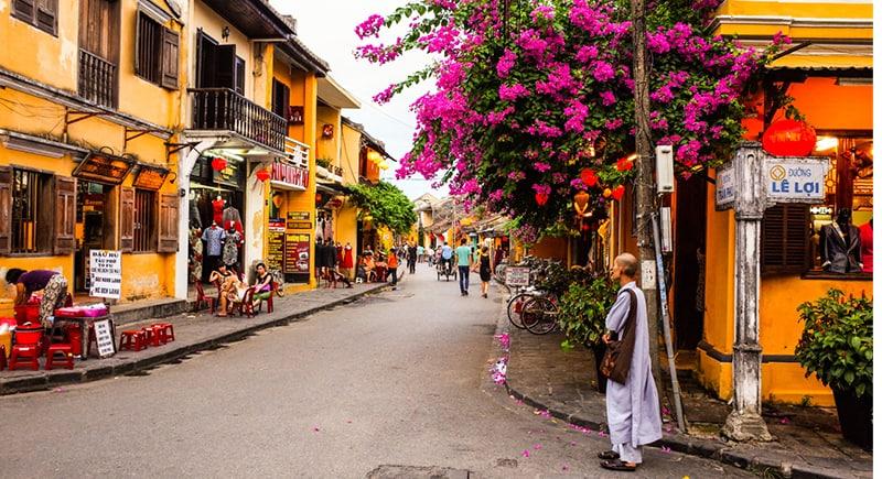 Hoian city vietnam visa