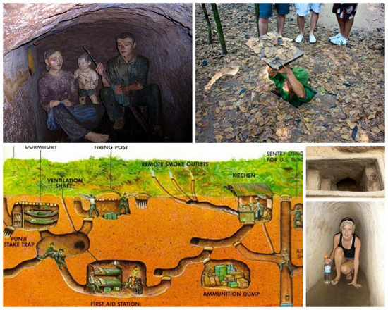 Cu Chi Tunnels - a glorious page in the Vietnamese history - Vietnam-visa.com
