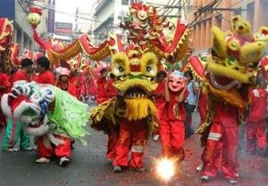 Lion dance during the Mid-Autumn festival in Hoi An - Vietnam-visa.com