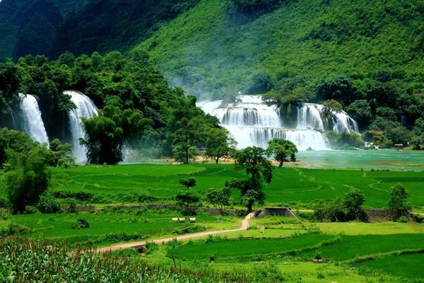 Ban Gioc Waterfalls - Vietnam travel - Vietnam-visa.com