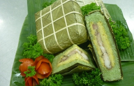 Banh Chung and Banh Day of Vietnam listed among top ten world's celebration foods