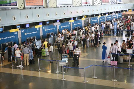 Noi Bai International Airport in Hanoi - online vietnam visa service