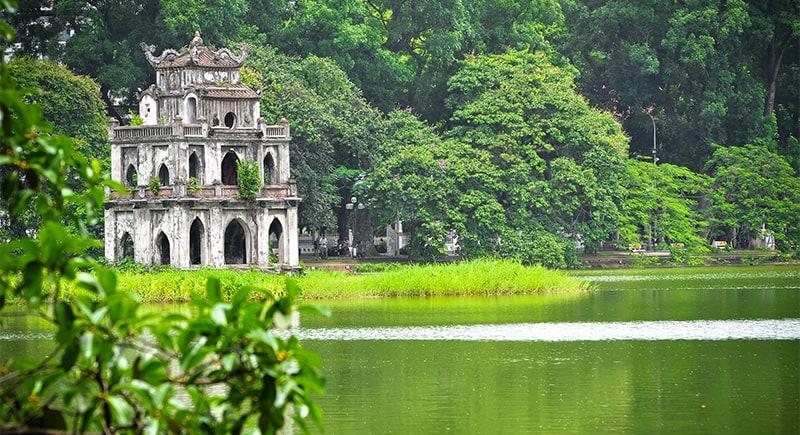 Hoan Kiem lake - Vietnam visa