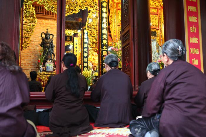 Tet Nguyen Tieu at Tran Quoc Pagoda in Hanoi - Vietnam visa online portal