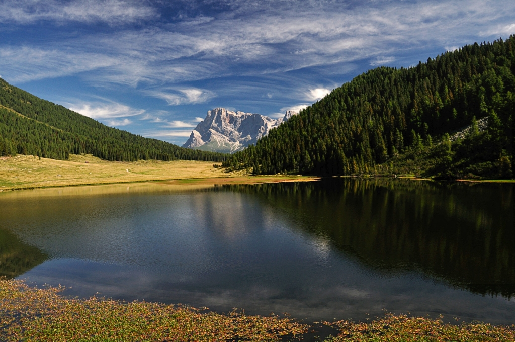Beautiful nature of the majestic Dolomites