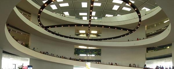 Interior of Hanoi Museum