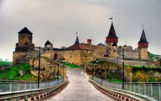 Kamianets Podilskyi Castle - Ukraine - Vietnam visa