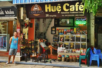 Hue Cafe - Hanoi - things to do - Vietnam visa