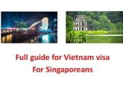 Full free guide for Vietnam visa for Singaporeans