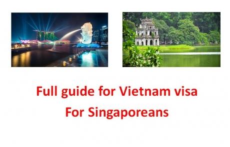 Full Guide for Vietnam Visa for Singaporeans