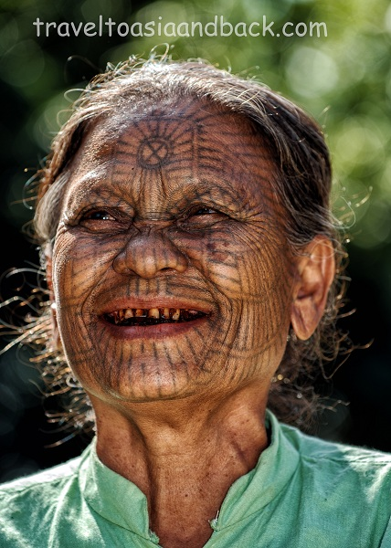 Tattooed Ladies in Chin State - Myanmar - Apply Vietnam visa