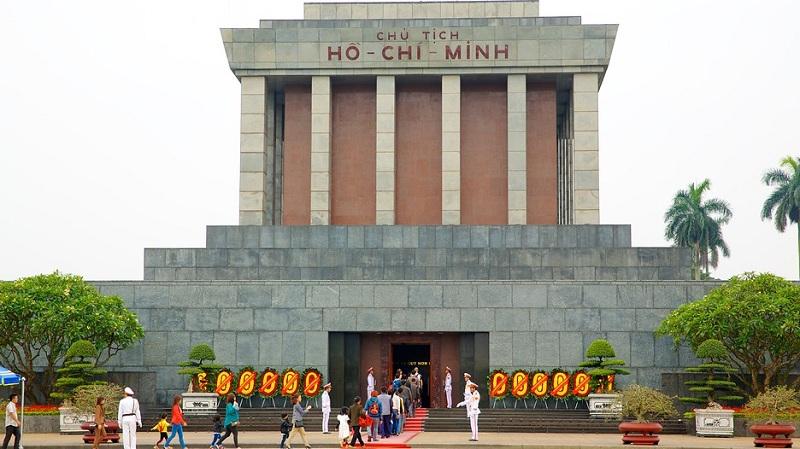 Ho Chi Minh Mausoleum in Hanoi - Vietnam visa