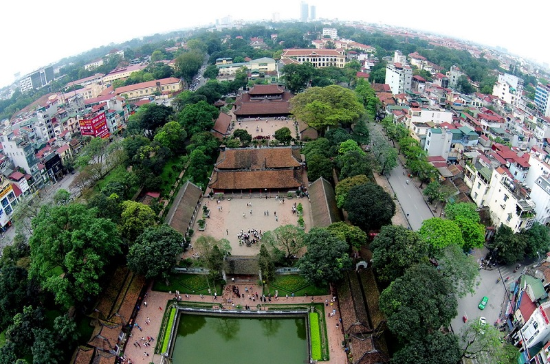 Temple of Literature - Hanoi - Vietnam visa apply