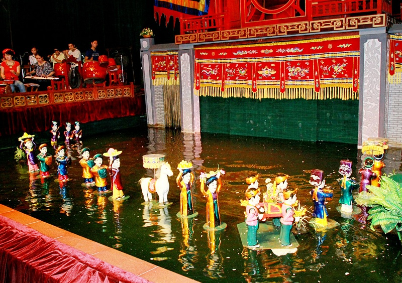 Water Puppet Show in Hano - Apply Vietnam visa