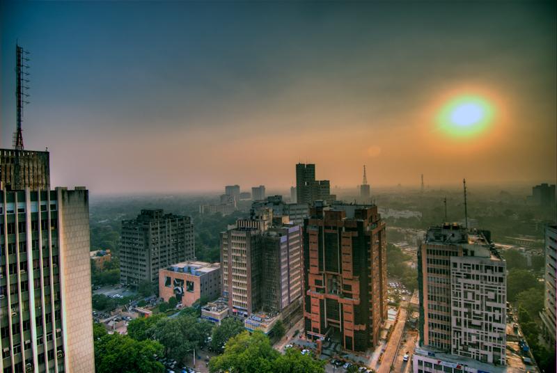 Delhi - A cosmopolitan in India