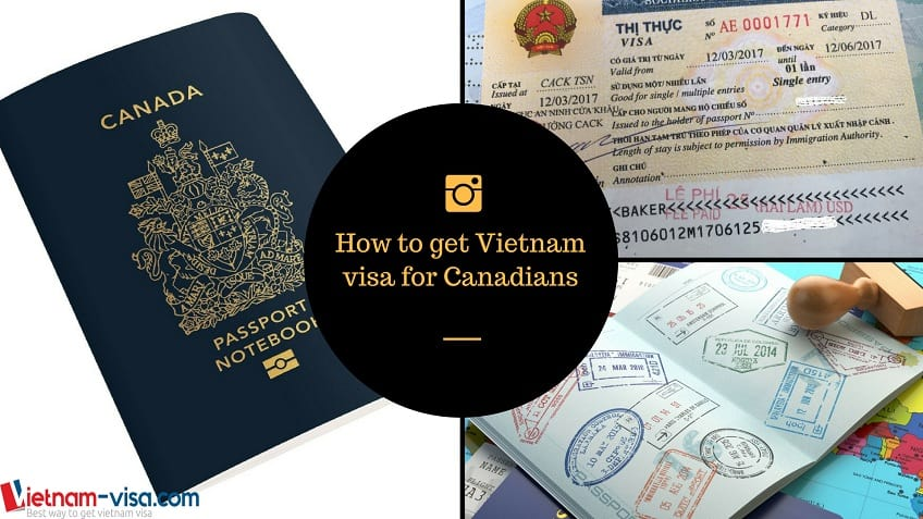 How to get Vietnam visa for Canadians