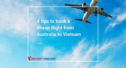 4 tips to book a cheap flight from Australia to Vietnam