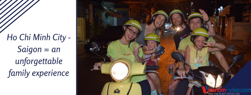 Saigon travel with kids - apply Vietnam visa