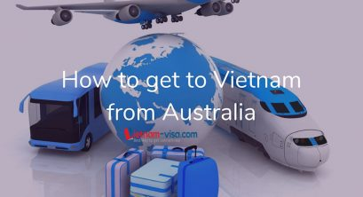 How to get to Vietnam from Australia