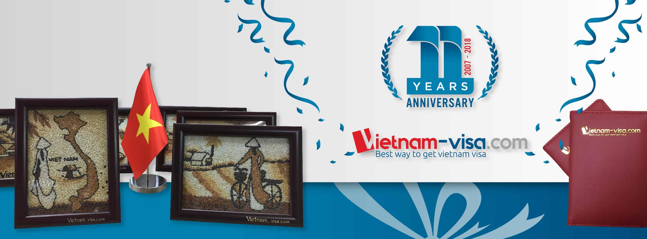 Special offers for 11th anniversary of Vietnam-visa establishment