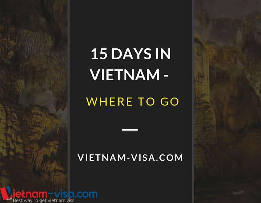 15 days in Vietnam – Where to go