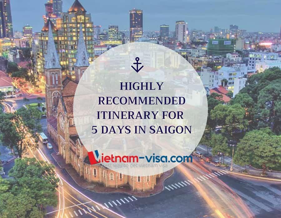 5 days in Saigon – Where to go