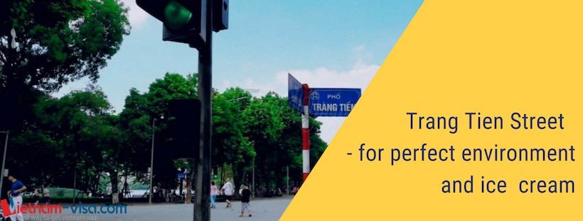 Trang Tien Street - A highlight of Hanoi - Apply Vietnam visa
