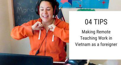 4 Tips for Teaching Online & Traveling in Vietnam