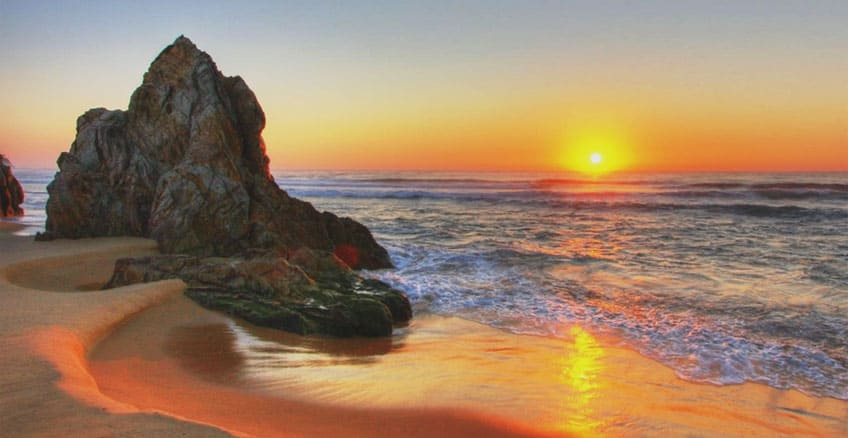 Watch sunsets galore at Long beach