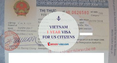 Vietnam 1 year visa for US citizens