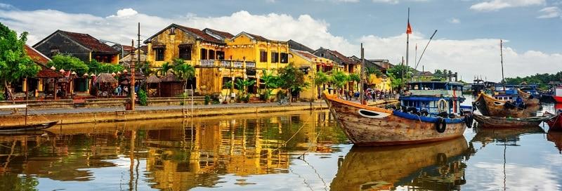 會安-越南中部保存完好的古鎮-越南簽證在線