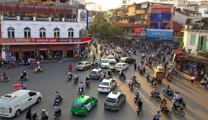 Vietnam traffic feature for first time travelers - Vietnam visa