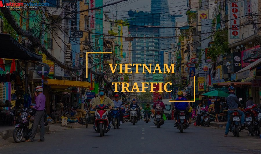 Typical Traffic of Vietnam - Living in Vietnam - Expat's guide