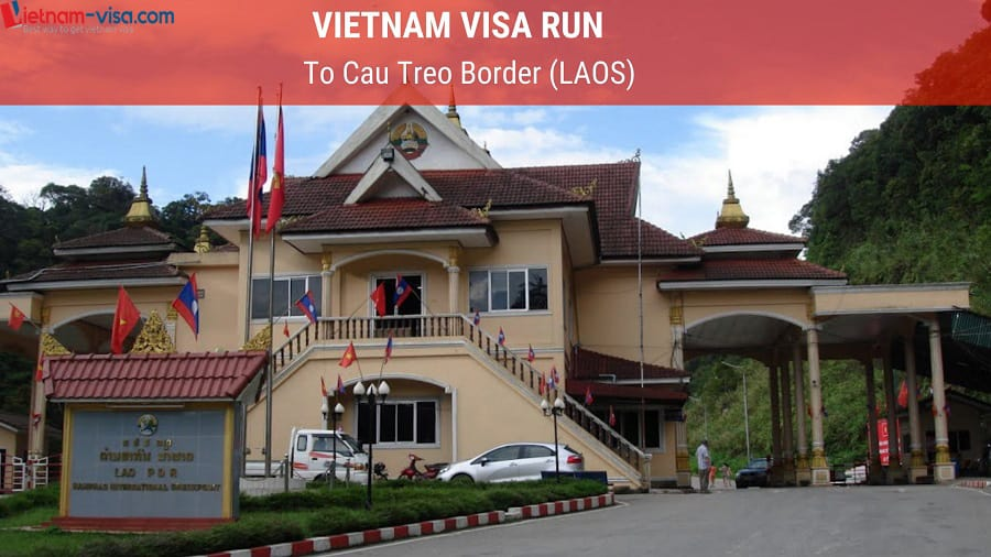 Cau Treo visa run - Vietnam visa run to Laos
