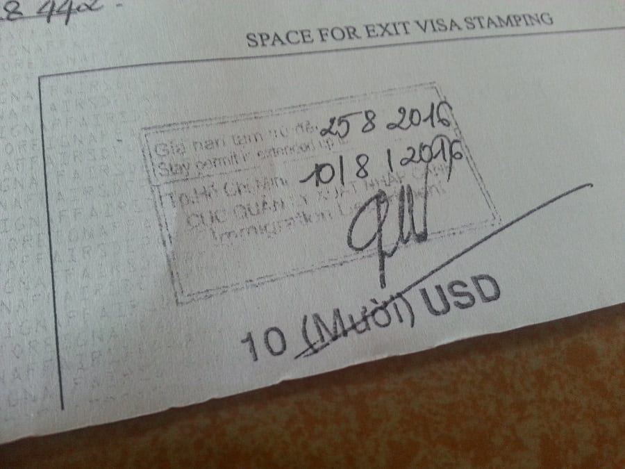Vietnam Exit Visa – All you should know