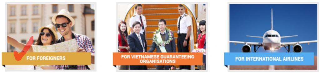Start your Vietnam evisa online application here