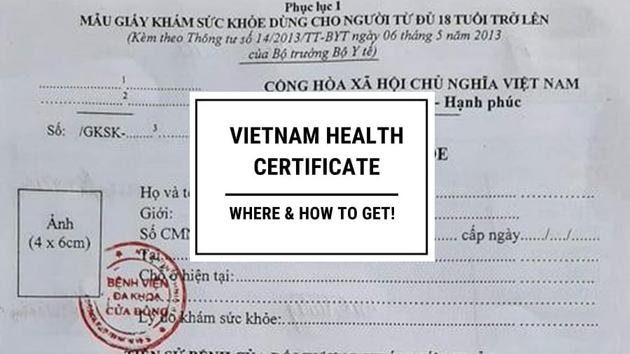 Vietnam Health Check for Foreigners – Where and How to Get