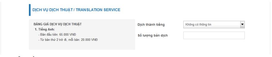 Đăng ký dịch vụ dịch thuật lý lịch tư pháp - Làm lý lịch tư pháp online - vietnam-visa