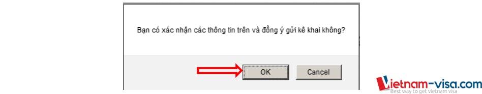 Xác nhận thông tin đăng ký lý lịch tư pháp trực tuyến - Vietnam-visa