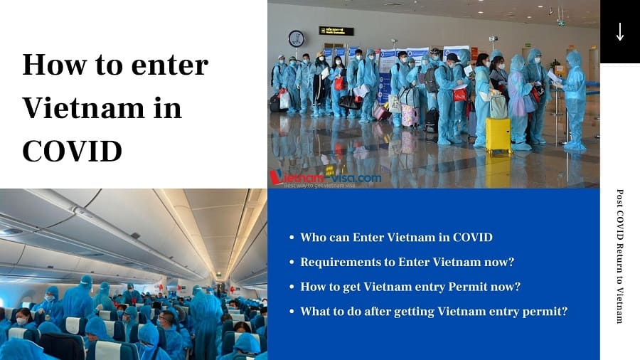 How to get into Vietnam in COVID