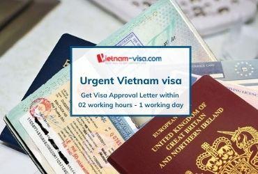 Get Vietnam visa urgent