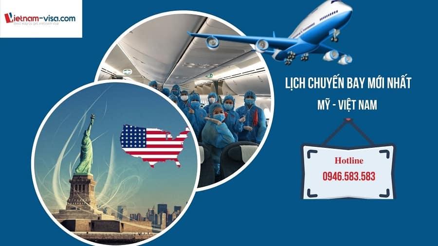 Lịch bay, Vé máy bay từ Mỹ về Việt Nam mùa dịch Covid 2021 – Tháng 7, 8 & 9